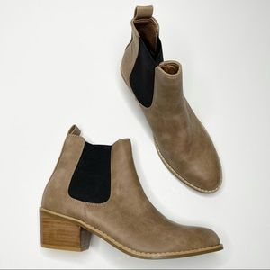 Roolee Tan Chelsea Ankle Boots